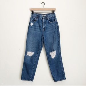 PacSun High Rise Straight Distressed Jeans Size 26